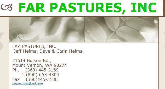 F 360 445 3186 Farpastures Aol Plants Only Or And Seeds Mail Order Retail Whole By Ointment Shrubs Trees Potted